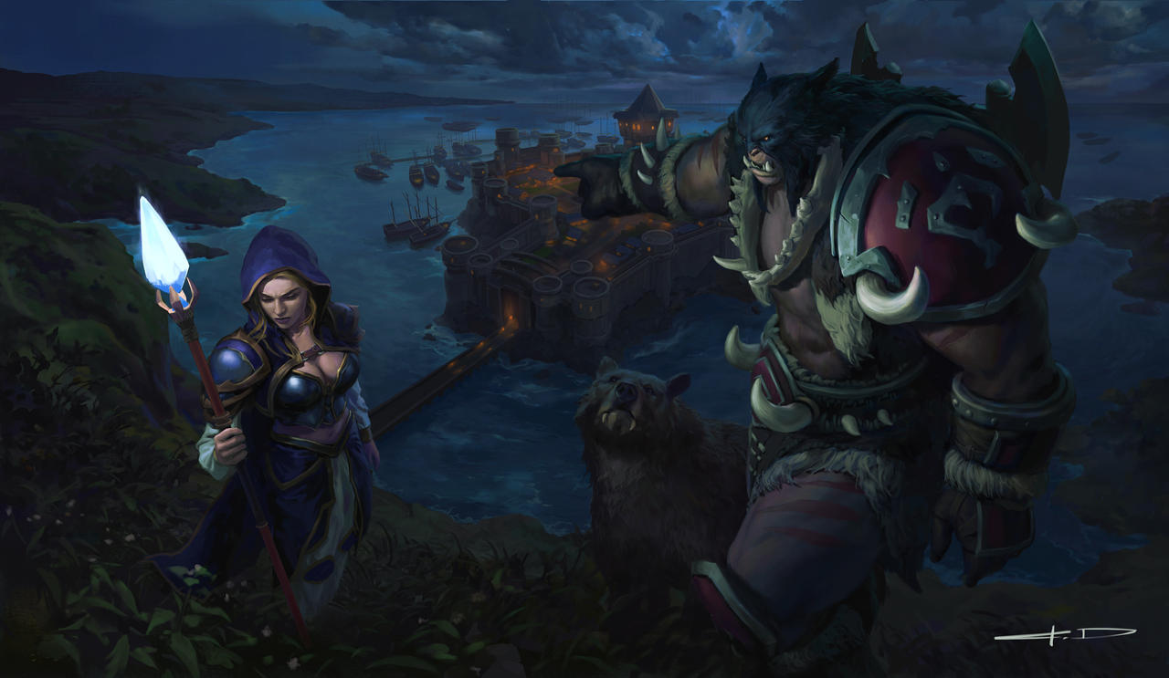 Artwork For Warcraft Iii Reforged By Kiddo428 On Deviantart