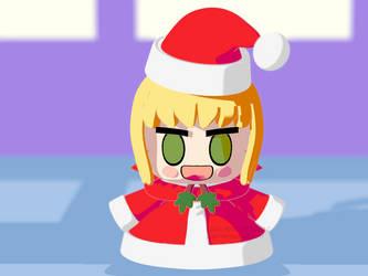 Saber Santa Alter 3D Model