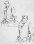 Ezio sketches by Dracurio