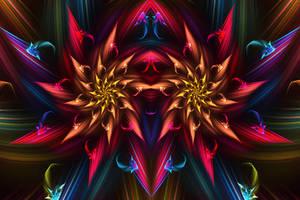 Dragon Flower by twinx85
