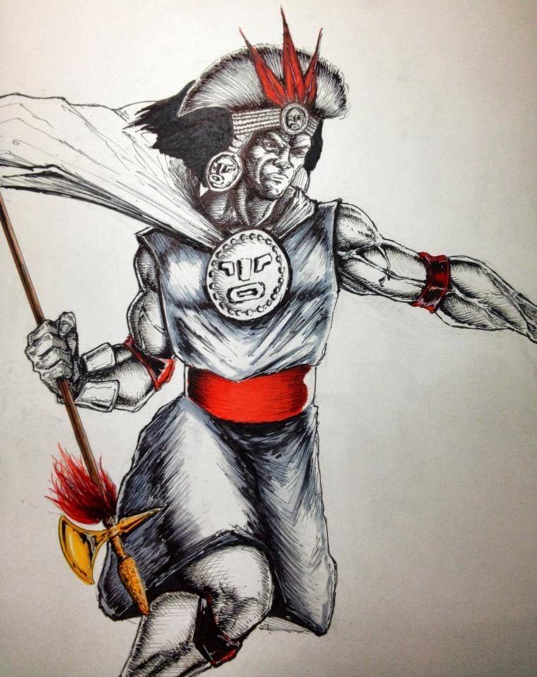 Inca Warrior by trylam on deviantART