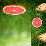 grapefruit by P0RG