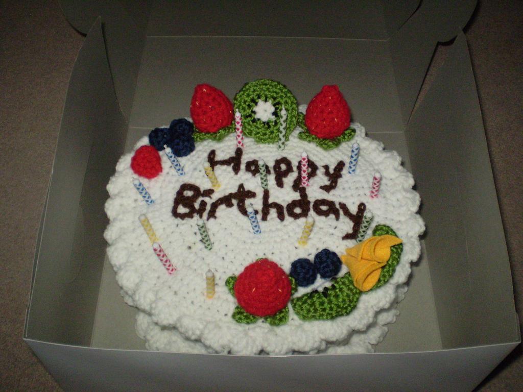Birthday Cake Patterns