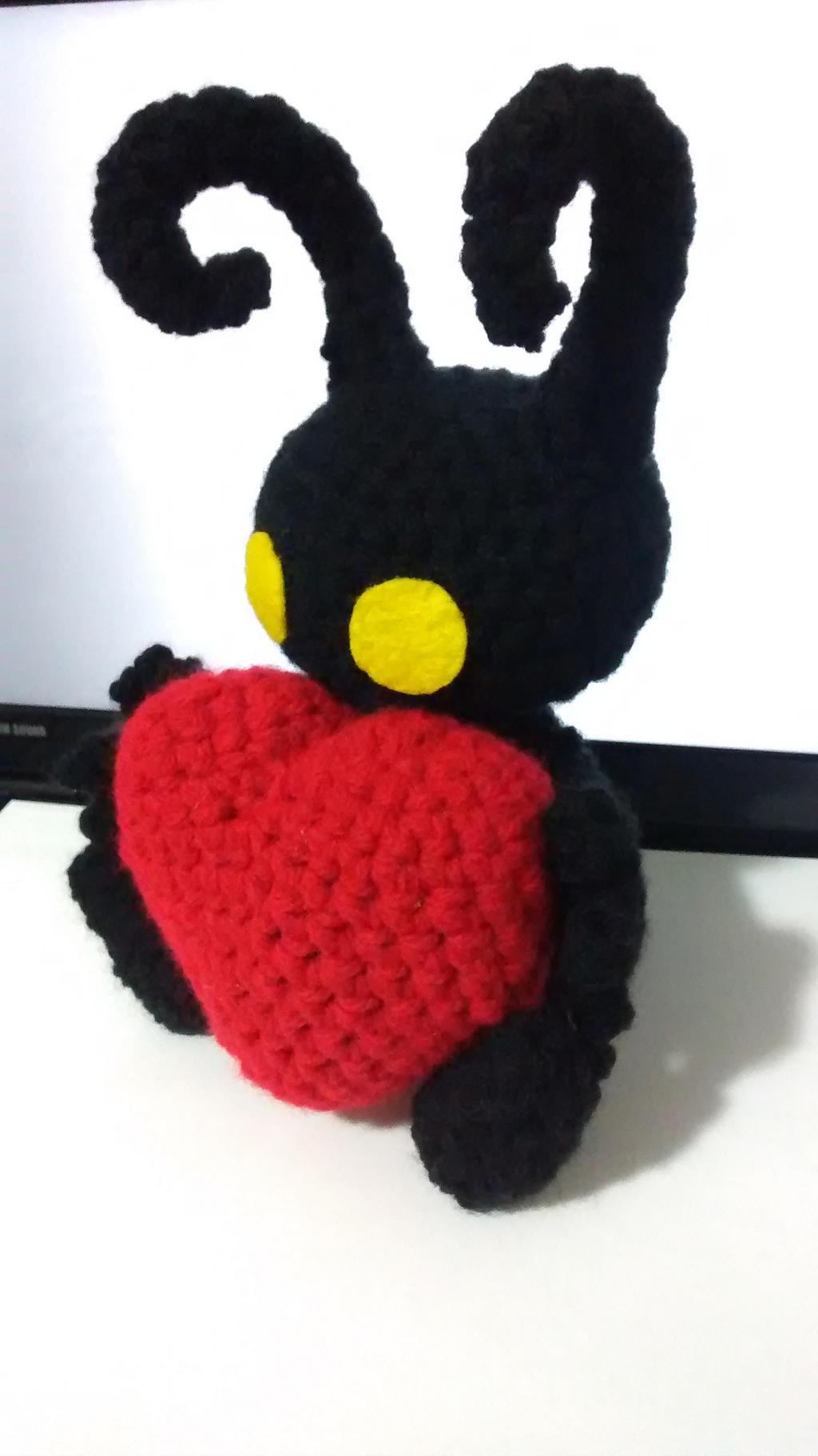 Kingdom Hearts Free Crochet Patterns : Crochet Heartless (Kingdom Hearts) by 37896048978416492157 ...