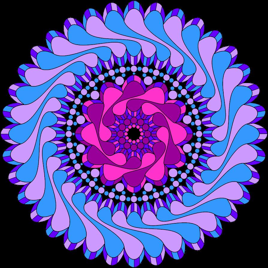 Flow Mandala by jaynedarcy