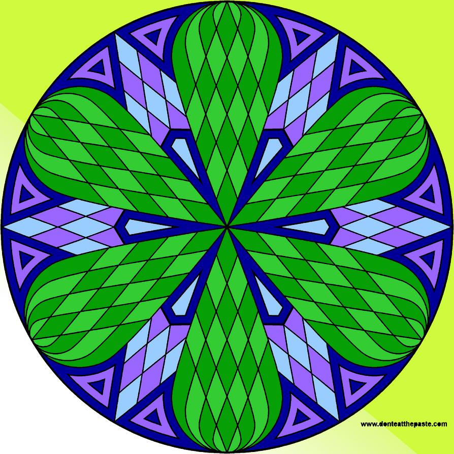 Lattice Mandala by jaynedarcy