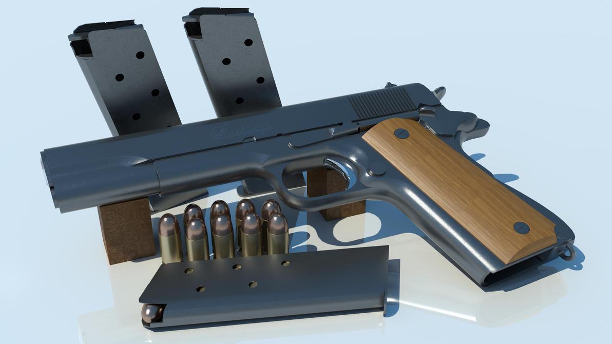 Colt 1911 by icebingo
