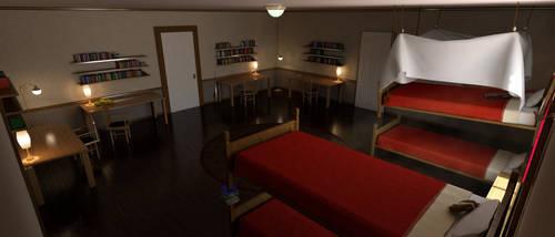 RWBY Room Recreation