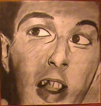 Joe Strummer has bad teeth by CousinWalter