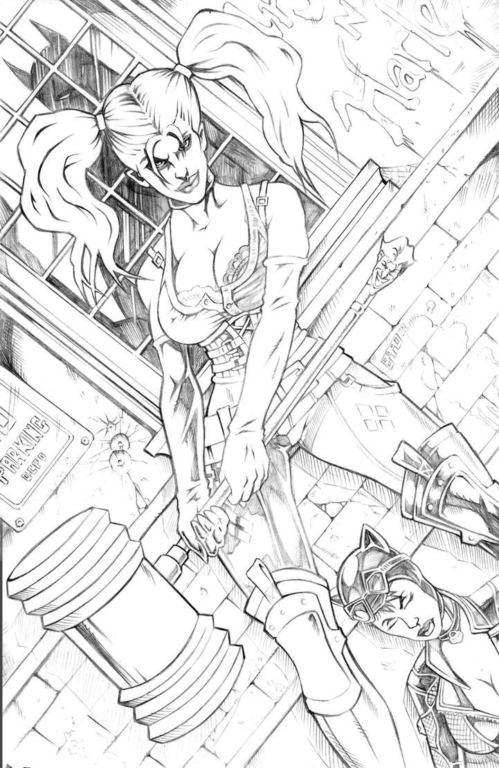 Harley Quinn by bphudson