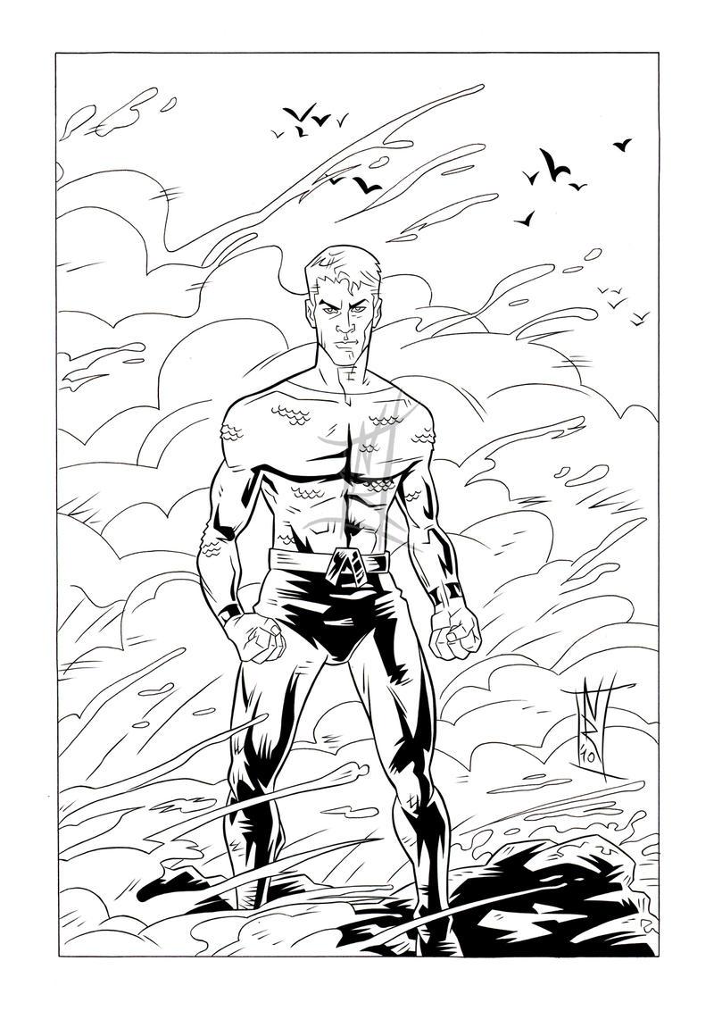 Aquaman - Inks