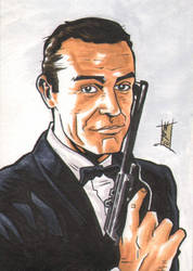 -KIRIBAN- My name is Bond... by The-Real-NComics