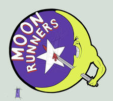 Moonrunners Logo - dA Variant by The-Real-NComics