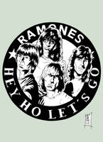 Ramones - dA Variant by The-Real-NComics