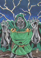 COMMISSION PSC - Dr. Doom by The-Real-NComics
