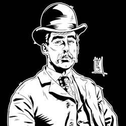 H.H. Holmes - Ink