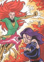 COMM PSC - Phoenix - Psylocke by The-Real-NComics