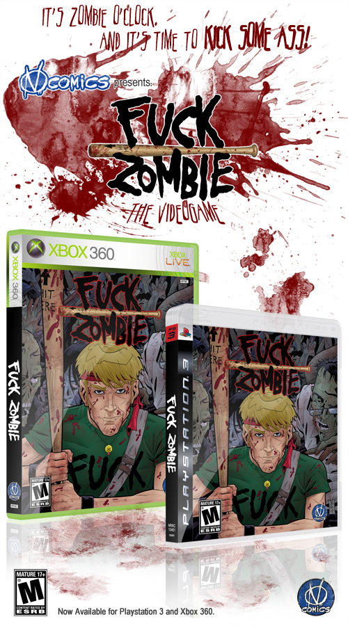 Fuck Zombie - The Videogame by The-Real-NComics