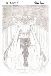COMM: Dr. Strange - The Master of the Mystic Arts by The-Real-NComics