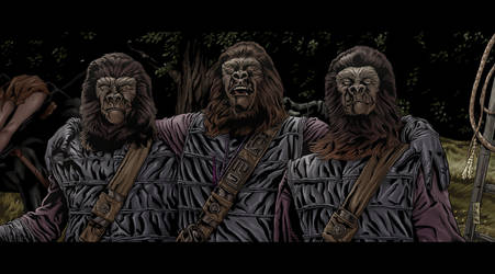 NComics Hall of Frame: Planet of the Apes (1968) by The-Real-NComics