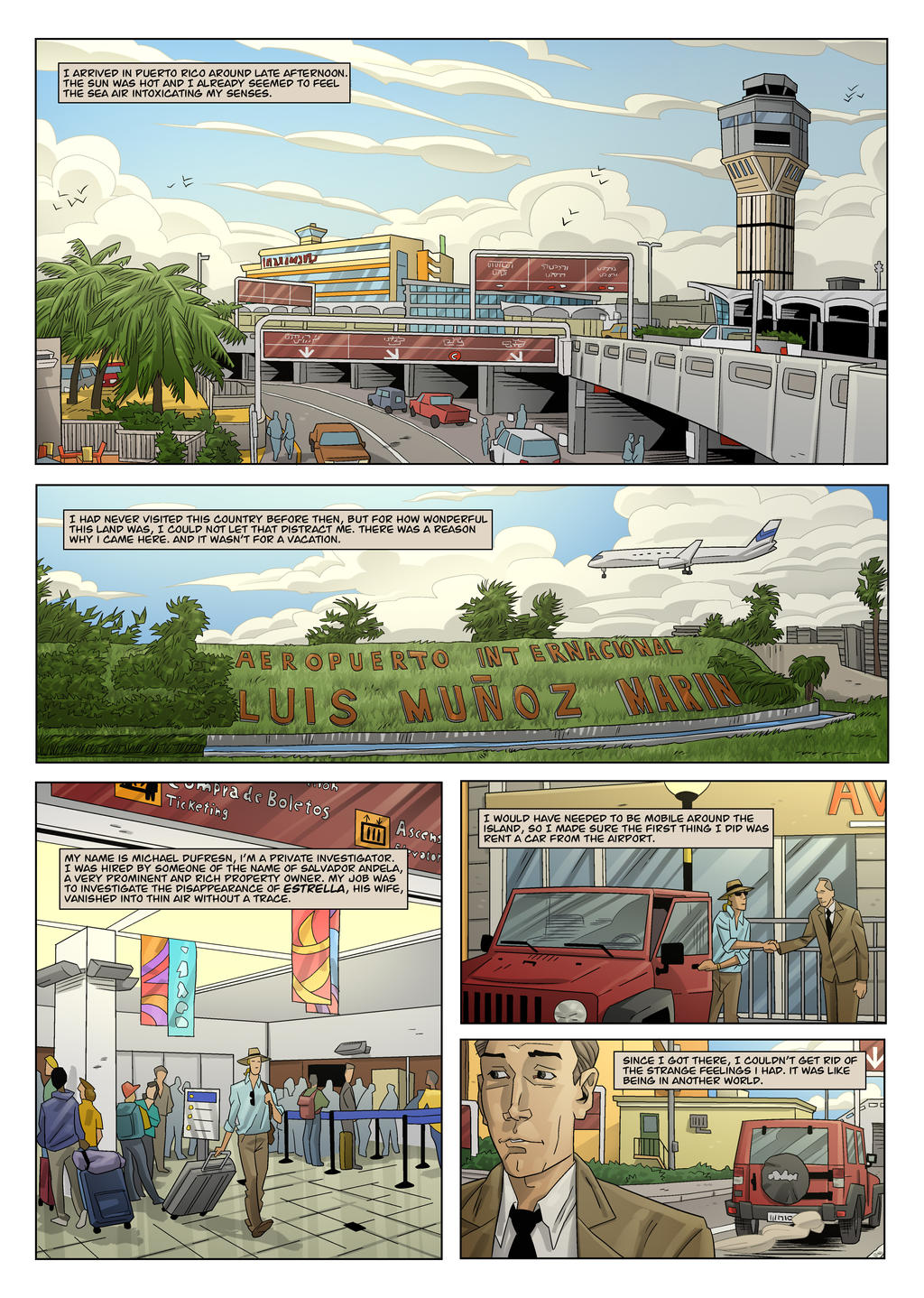 Puerto Rico - Page 1 - Final ENG by The-Real-NComics