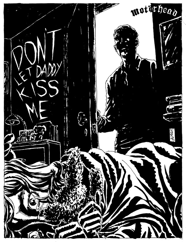 Motorhead - Don't let Daddy Kiss Me by The-Real-NComics