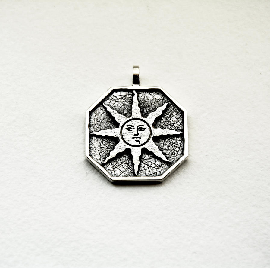Dark souls praise the sun medallion by georgesilverjewelry on deviantart dark souls praise the sun medallion by georgesilverjewelry aloadofball Choice Image