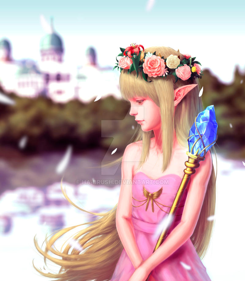 Elf Queen by ha-brush