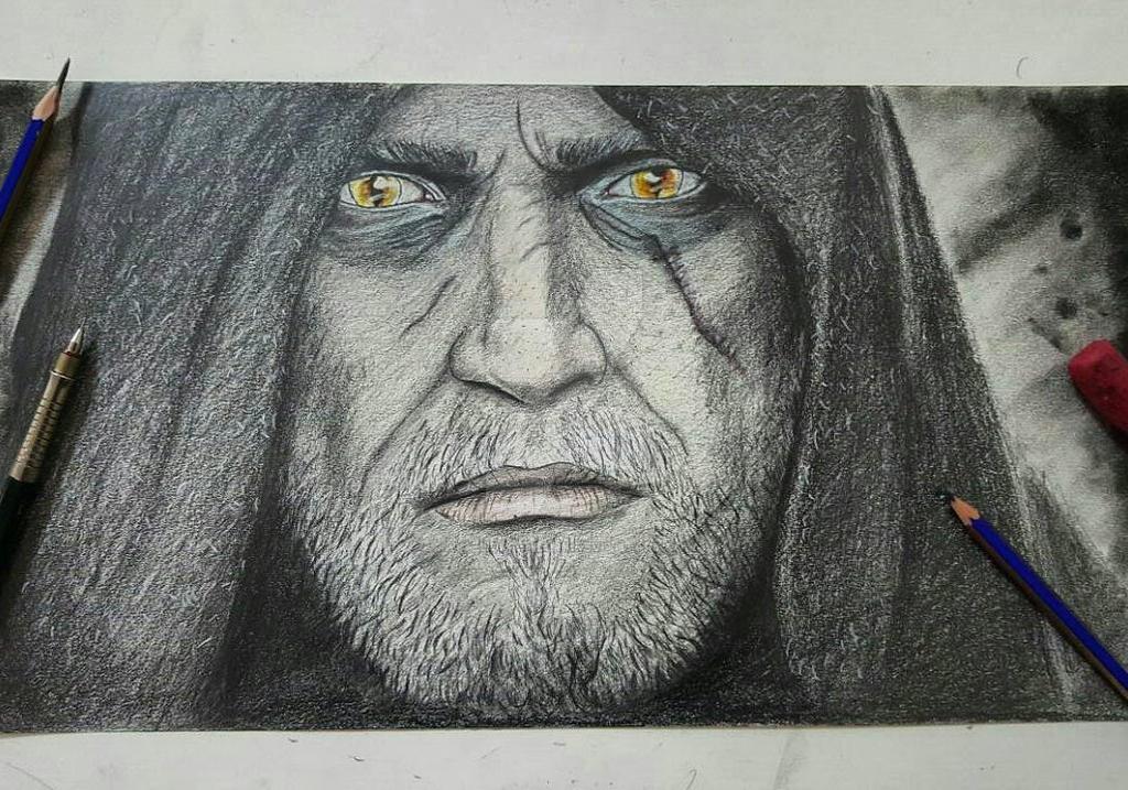 Geralt by AysenurSenturk