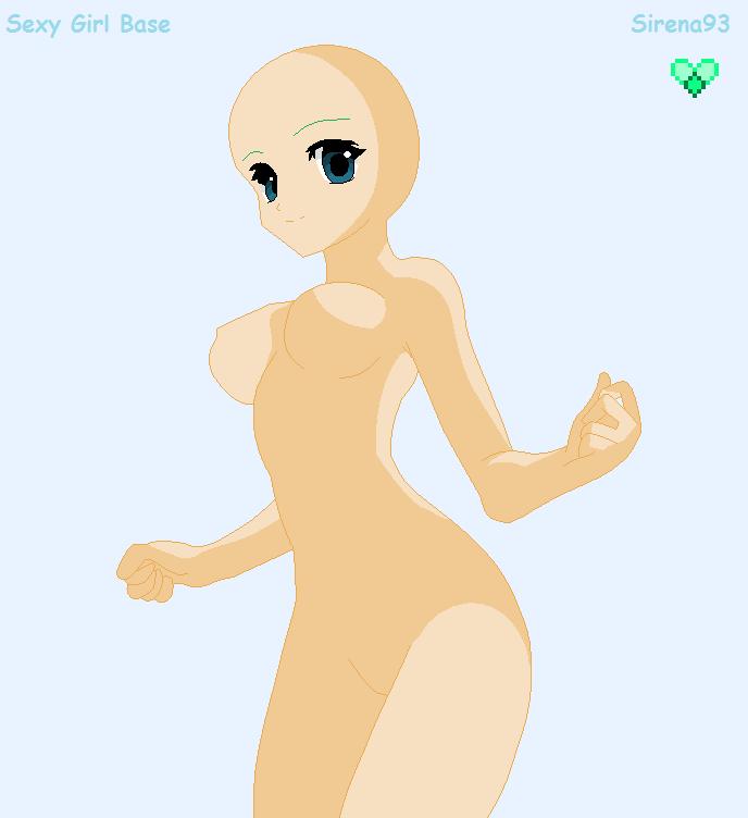 sexy anime girl base