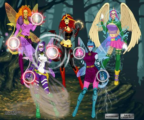 MLP Rainbow Rocks X-men