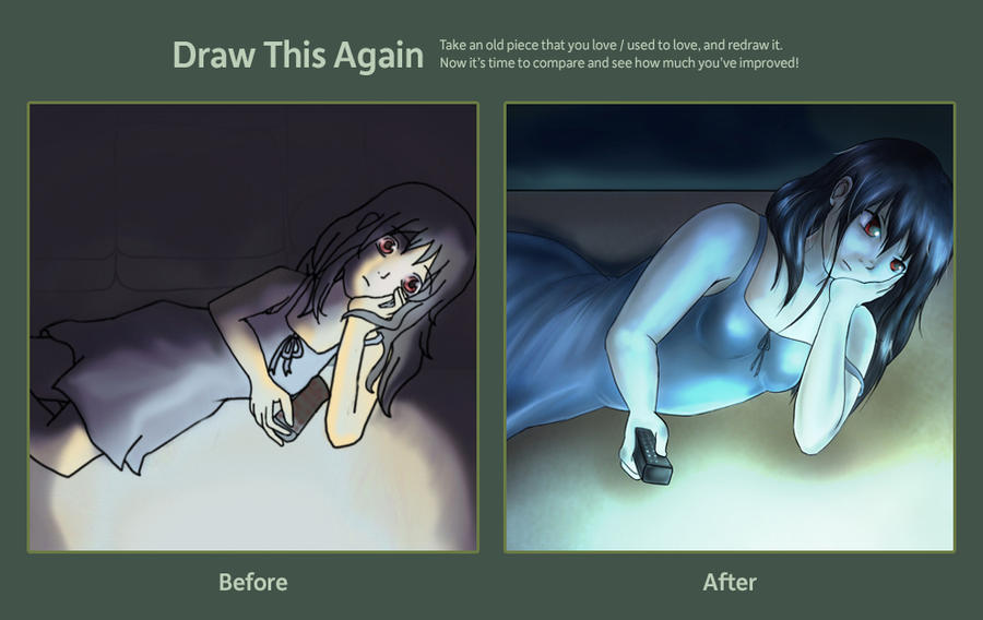 Draw This Again: 2009 to 2012 by Ribbon-Knight
