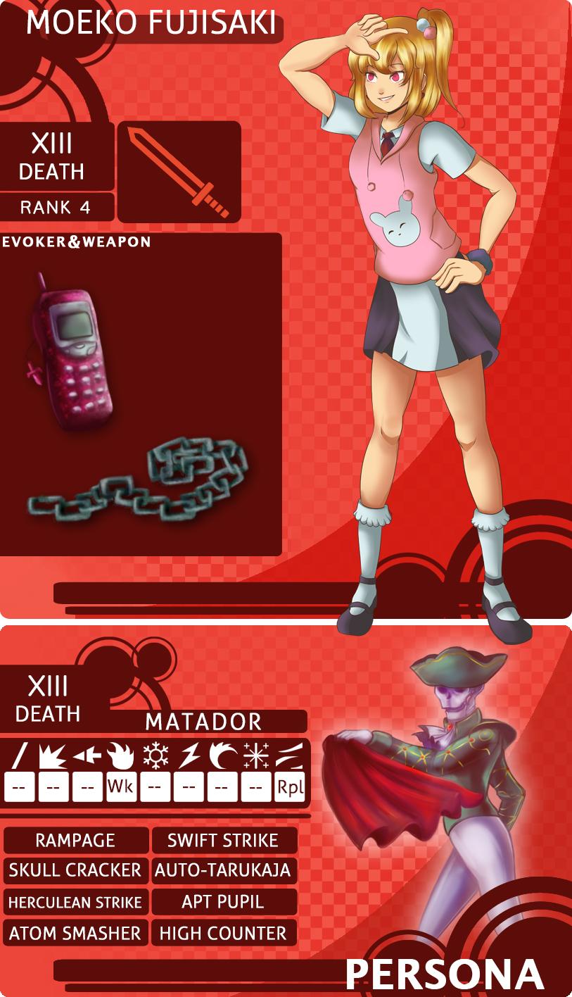 MM: Moeko Fujisaki [Updated] by Ribbon-Knight
