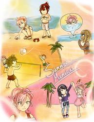 SA: Summer Time Cheer by Ribbon-Knight