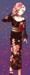 SA: Sakura and Hinamatsuri by Ribbon-Knight