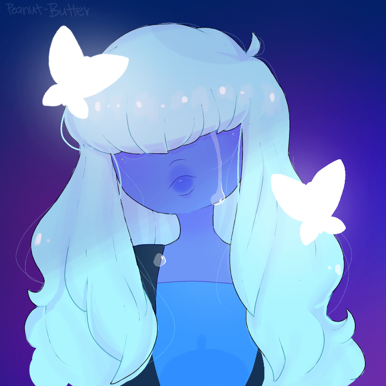 Oh hey look a sad sapphire >.> I'm sorry