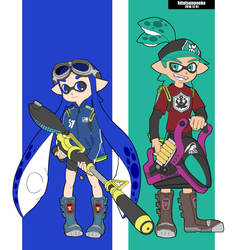 Splatoon by cool-neko-chan