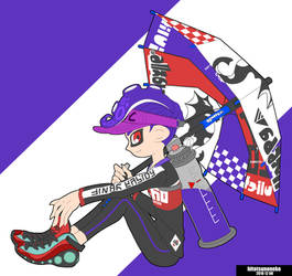 Splat Brella by cool-neko-chan