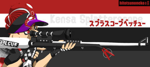 Kensa Splatterscope by cool-neko-chan