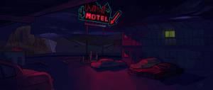 Motel (night)