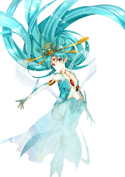 Kougyoku Mermaid Render