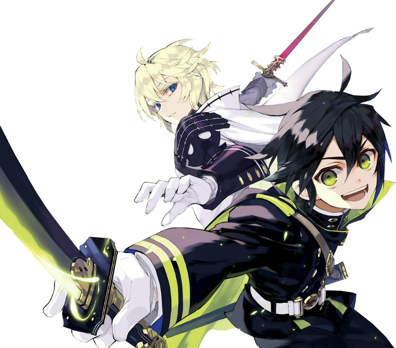 Yuu x Mich Render by theWhiteDEVIL66
