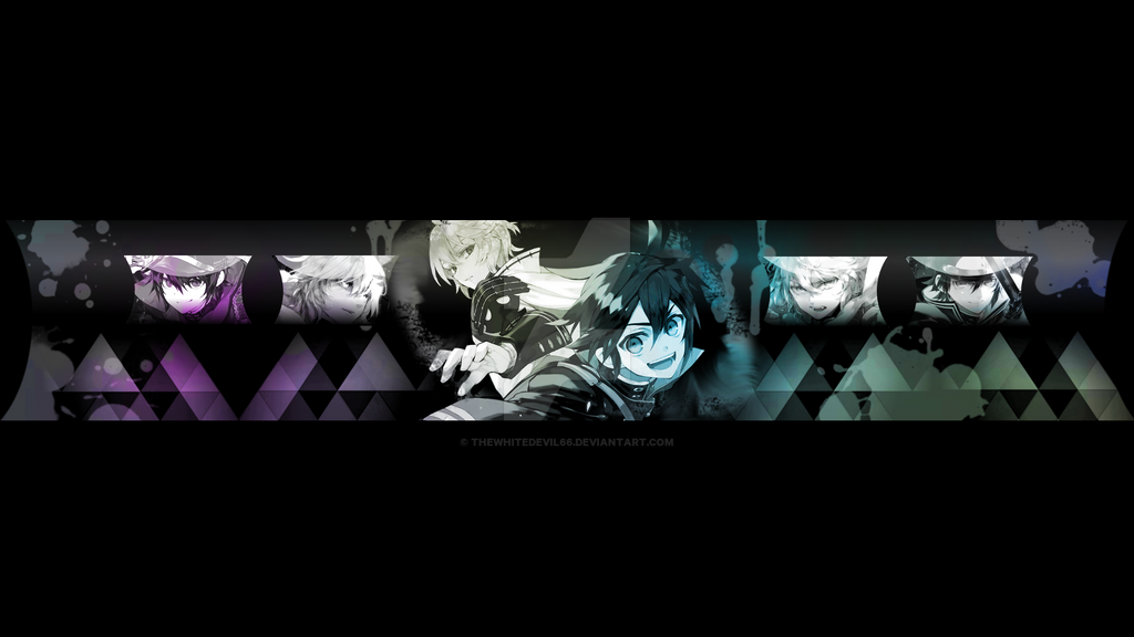 Yuu x mich youtube banner by thewhitedevil66 on deviantart - Anime background for youtube ...