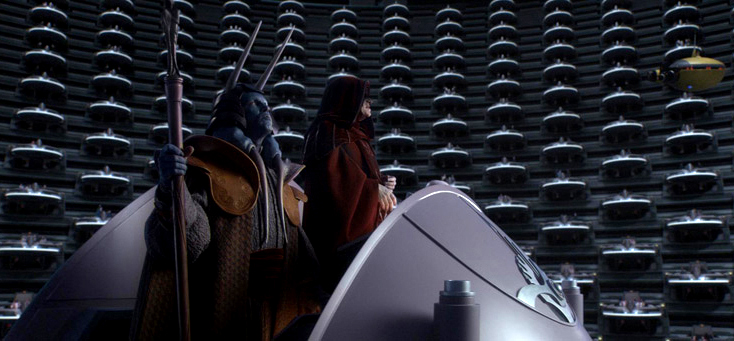 Palpatine-adresses-senate-2 by DarkSpartan1000