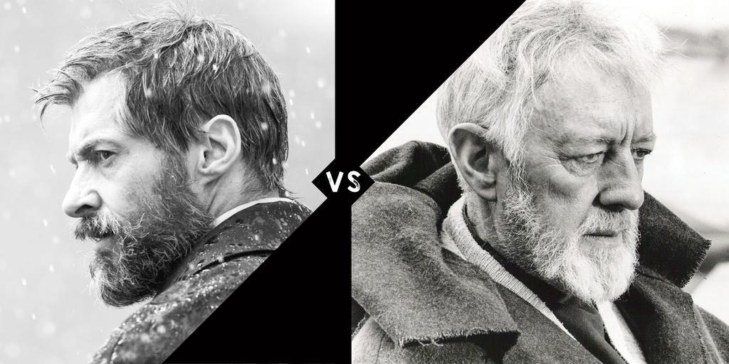 Old Man Logan vs Ben Kenobi by DarkSpartan1000