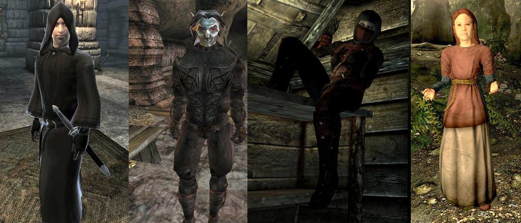 Team Dark Brotherhood by DarkSpartan1000