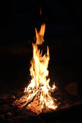 Lammas 2015 - Fire pit by Shijakjin