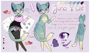 Juno - Tertiary Sona(?) || Reference Sheet by Quizzan