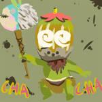 chacha acorn mask by mosuga