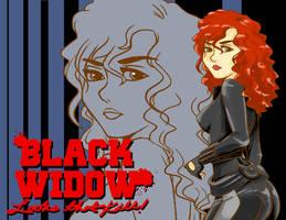 Black widow by mosuga